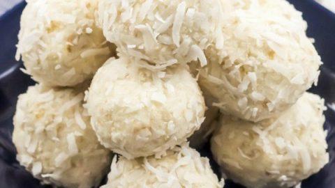 No-Bake Coconut Balls Recipe