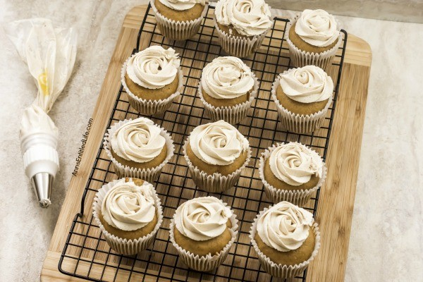 Pumpkin Cheesecake Cupcakes Recipe. Now that the weather has turned cooler, it is pumpkin season! These terrific cheesecake filled pumpkin cupcakes are frosted with an easy to make, complimentary brown sugar butter cream frosting. Whip up a batch tonight for lunchboxes, after-school snack, or dessert.