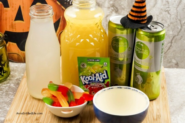 Swamp Water Punch Recipe. This kid-friendly Halloween punch is murky, spooky, and delicious. If you are hosting a kid's party for Halloween this year, try this easy to make, tasty swamp water punch recipe.