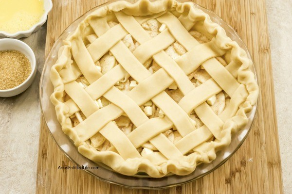 Homemade Fresh Apple Pie Recipe. This homemade apple pie recipe is made with fresh apples and a homemade apple pie crust. It is a wonderful pie to serve for dessert or take to picnics because this simple apple pie recipe tastes great and is so easy to make! This may be the best apple pie you will ever eat.