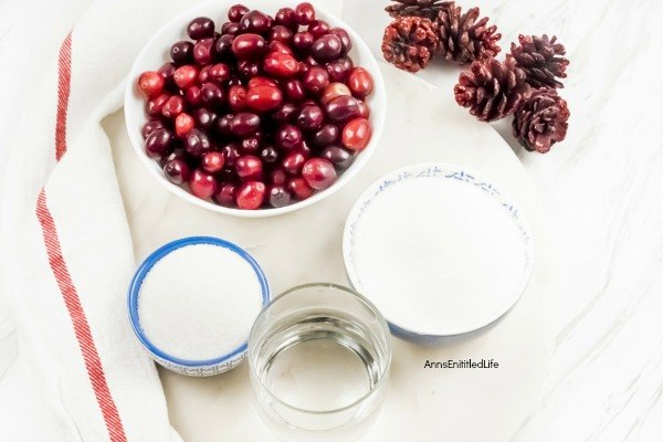 Sugared Cranberries Recipe. These sugared cranberries are amazingly addictive. Use these easy to follow instructions to make your own sugared cranberries which are perfect for recipe garnishes, cocktails, gifts, or simply eating as a candied fruit.