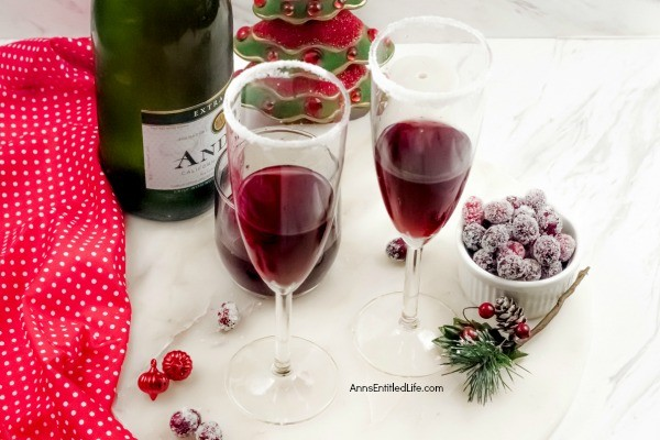 Cranberry Mimosa Drink Recipe. This cranberry mimosa drink is a festive holiday beverage. This is a perfect holiday drink for your holiday brunch, it can also be served at cocktail parties, to ring in the New Year, or for any other holiday celebration you may have.