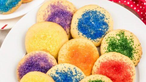 Grandma's Old Fashioned Sugar Cookies Recipe