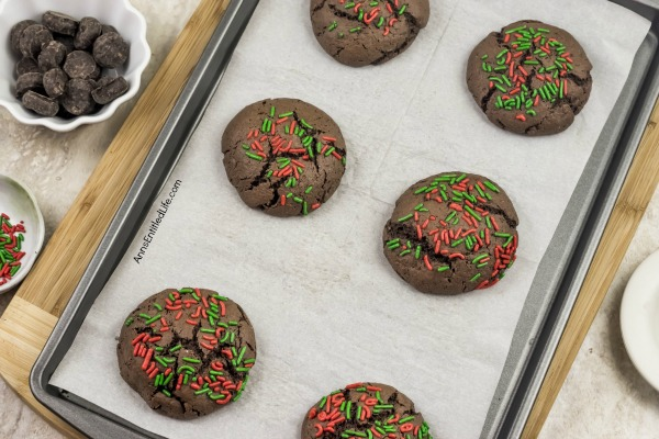 Peppermint Patty Cookies Recipe. The holidays are such a wonderful time of year, especially for those of us who love food! If you truly enjoy a good cookie, then these Peppermint Patty Cookies should be at the top of your holiday baking list! Using just a few ingredients, these Peppermint Patty cookies are so easy-to-make and the chocolatey mint freshness is the perfect holiday flavor combination.