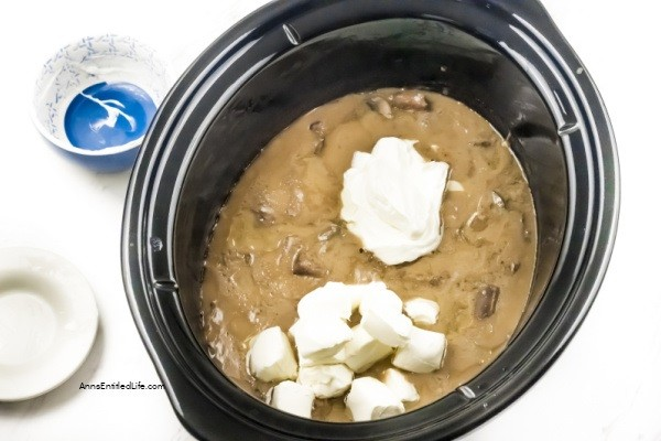 Easy Slow Cooker Beef Stroganoff Recipe. This easy-to-make Slow Cooker Beef Stroganoff Recipe makes dinner a breeze. Delicious and creamy with meat so tender you can cut it with a fork, your family will definitely be asking for seconds!