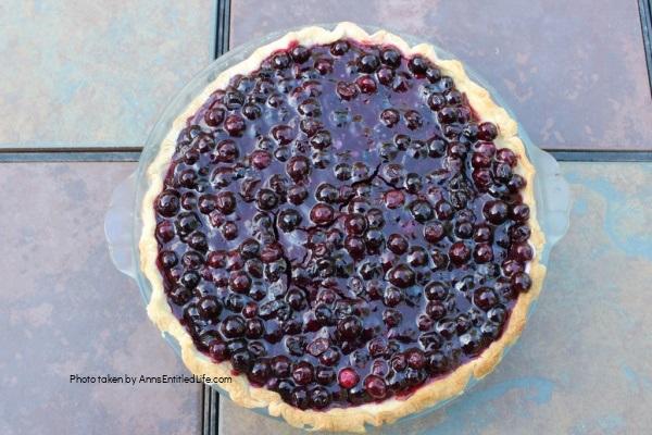 Blueberry Pie Recipe. An easy-to-make cream cheese blueberry pie recipe. This delicious classic blueberry pie combines fresh blueberries and wholesome dairy cream for a truly luscious dessert!