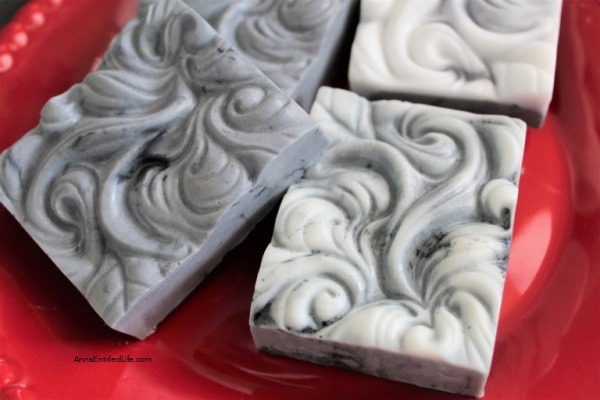 Goat's Milk Charcoal Soap Recipe. Easily make goat's milk charcoal soap by following these step-by-step instructions. You will feel fresh and clean with this terrific activated charcoal soap recipe. We use this particular bar soap for face soap, as well as a hand soap, and love it.