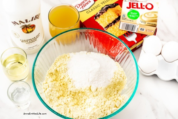 Piña Colada Cake Recipe. The tropical flavors of this delicious pina colada cake recipe will remind you of island breezes and sultry warm weather. For a taste of the islands, make this delicious cake for your next party or get-together. Your friends and family will love it!