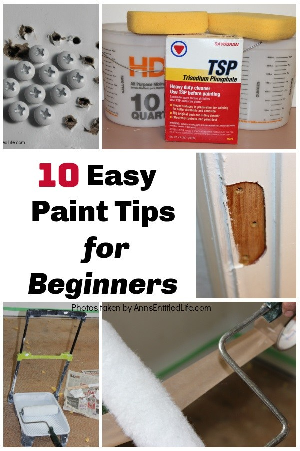 a collage of paint tips