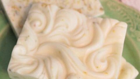 Homemade Citrus Soap Bars Recipe