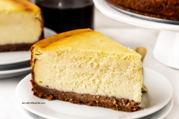 Sour Cream Cheesecake Recipe. This sour cream cheesecake recipe is creamy and delicious. Easy-to-make, your guests and family will love every tangy-sweet bite!
